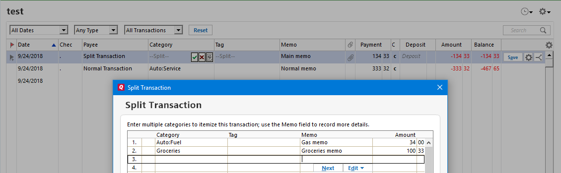 ImportQIF CSV/Excel Mapping Documentation - QuicknPerlWiz